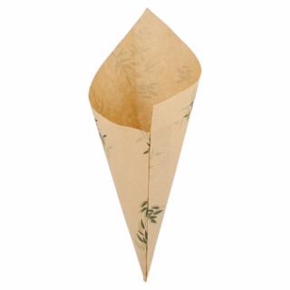 Sacchetto Cono di Carta 29,5x21 Cm, 250gr -Confezione 250 pezzi