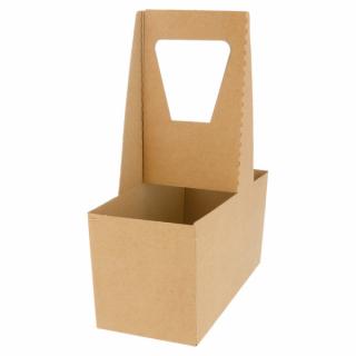 Scatola Portabicchieri Base 2 Posti - Confezione 20 pezzi