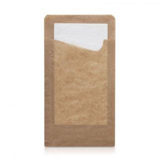 Sacchetto Snack Stretto + Tovagliolo -Confezione 350 pezzi