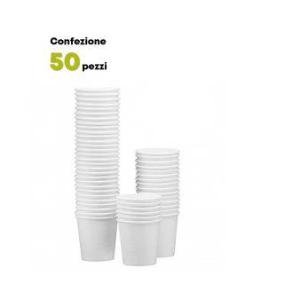Bicchiere Cartoncino 180 ml -Confezione 50 pezzi