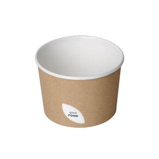 Ciotola in Cartoncino per Pasta e Zuppe, 550 Ml -Confezione 50 pezzi