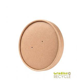 Coperchio Cartoncino/PE  Ø15 Cm - Confezione 50 pezzi