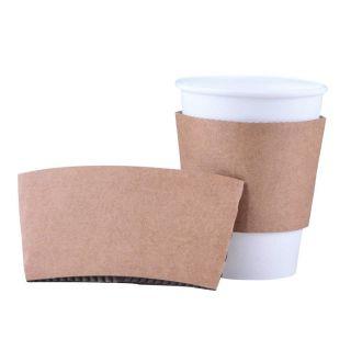 Fascetta Salvamani per Bicchiere Bevanda Calda 240 ml -Confezione 100 pezzi