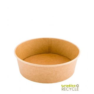 Ciotola Insalatiera 750 ml Cartoncino/PE - Confezione 50 pezzi