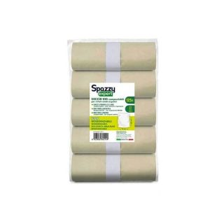 Sacchi a Rotoli Bio Compostabili 70x105 Cm-Confezione 5x10 pezzi